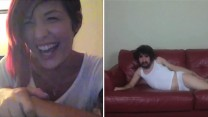 MILEY CYRUS' WRECKING BALL CHATROULETTE VERSION: ANEMUL.COM