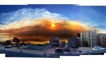 GLENDORA FIRE OVER DTLA: ANEMUL.COM